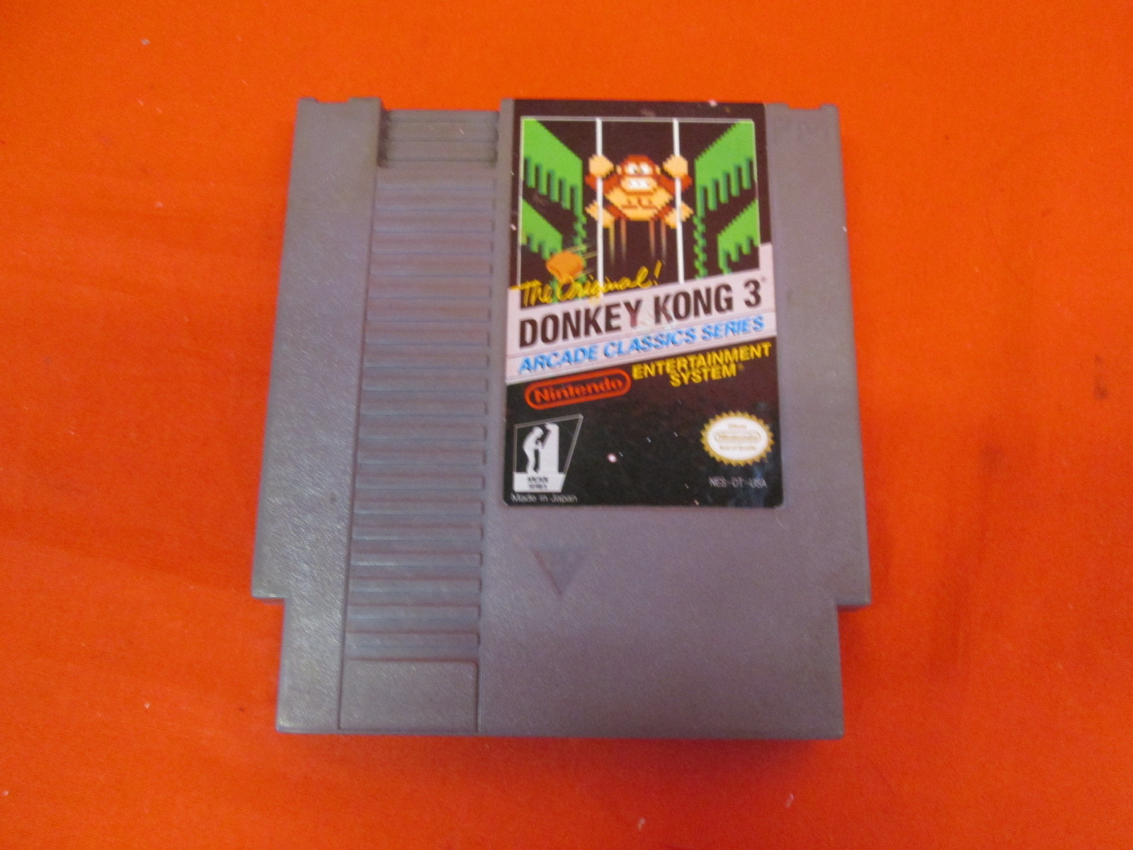 donkey kong 3 for nintendo nes. Black Bedroom Furniture Sets. Home Design Ideas