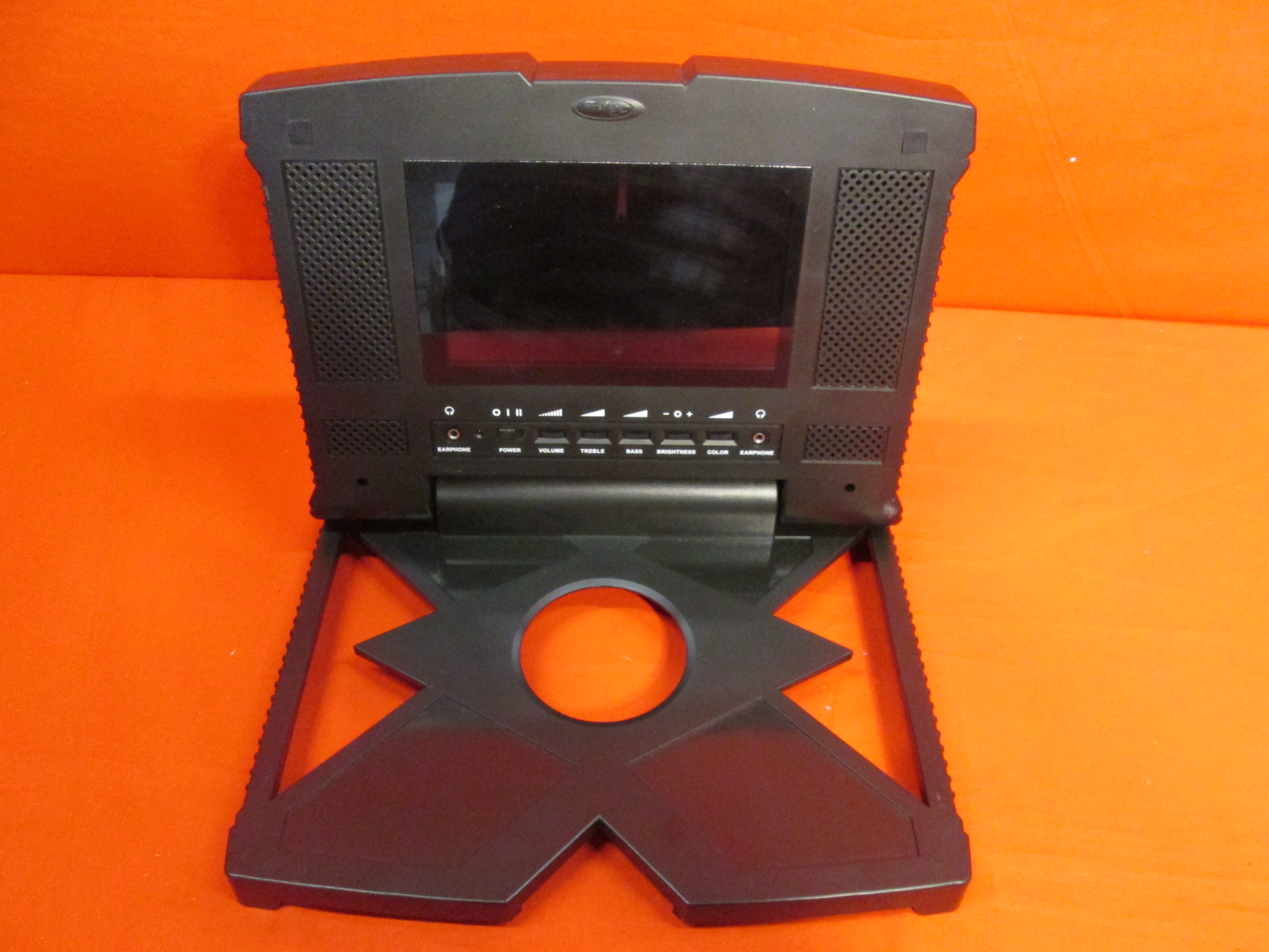 original microsoft xbox with intec portable screen for
