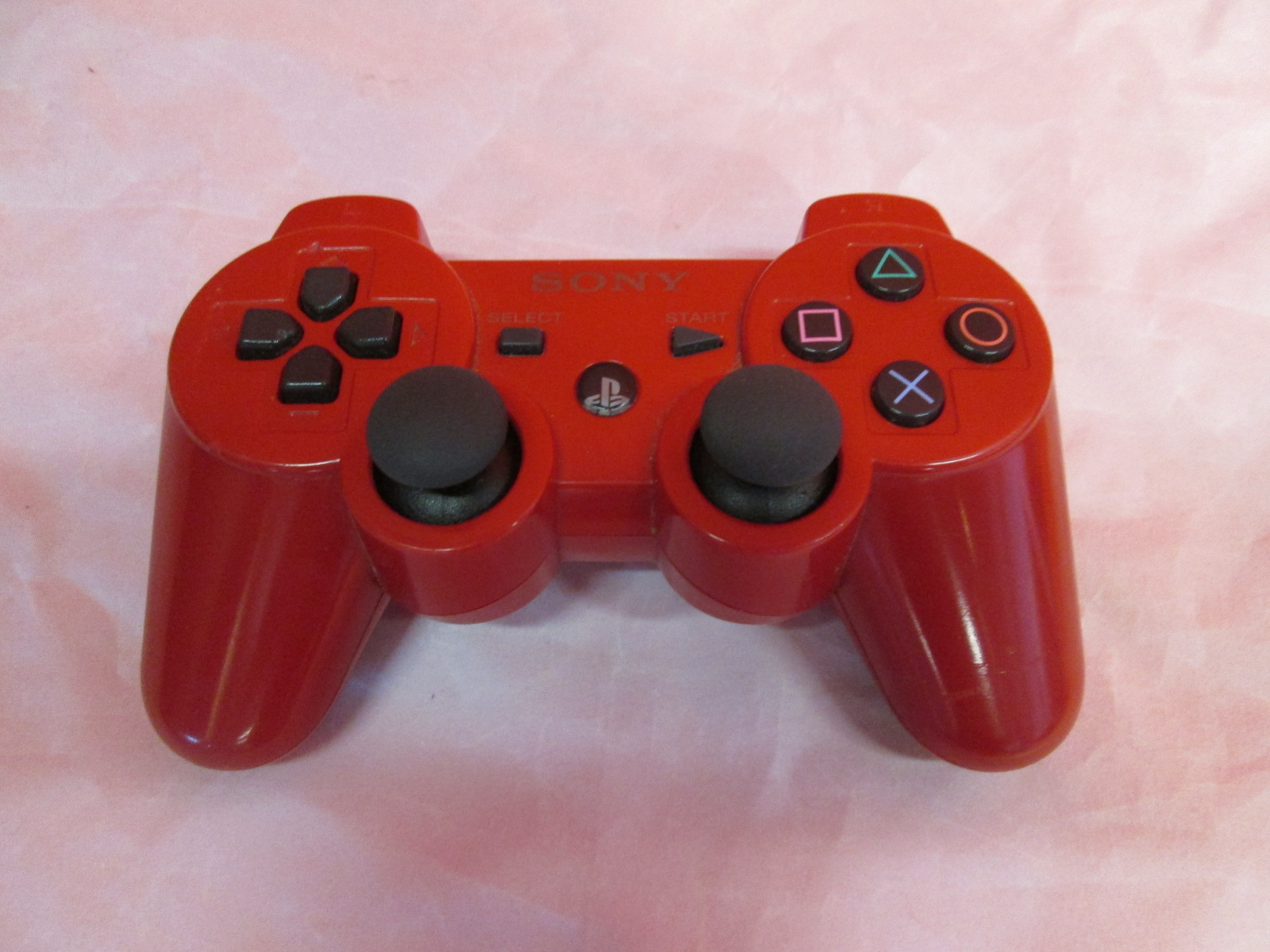 Ps3 Dualshock 3 Controller Red For Playstation 3