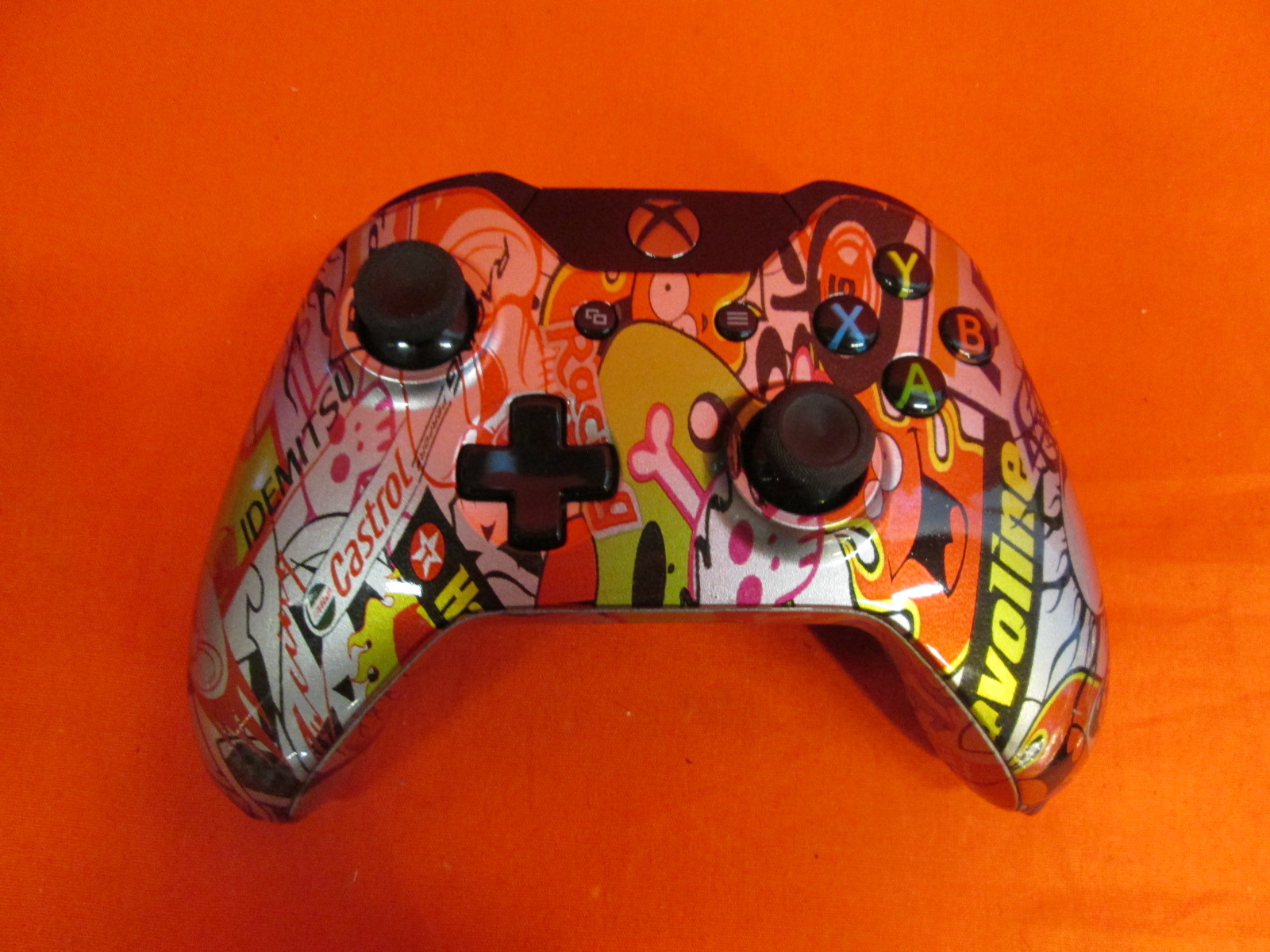 Evil Controller Steel Sticker Bomb Master Mod Wireless Controller For
