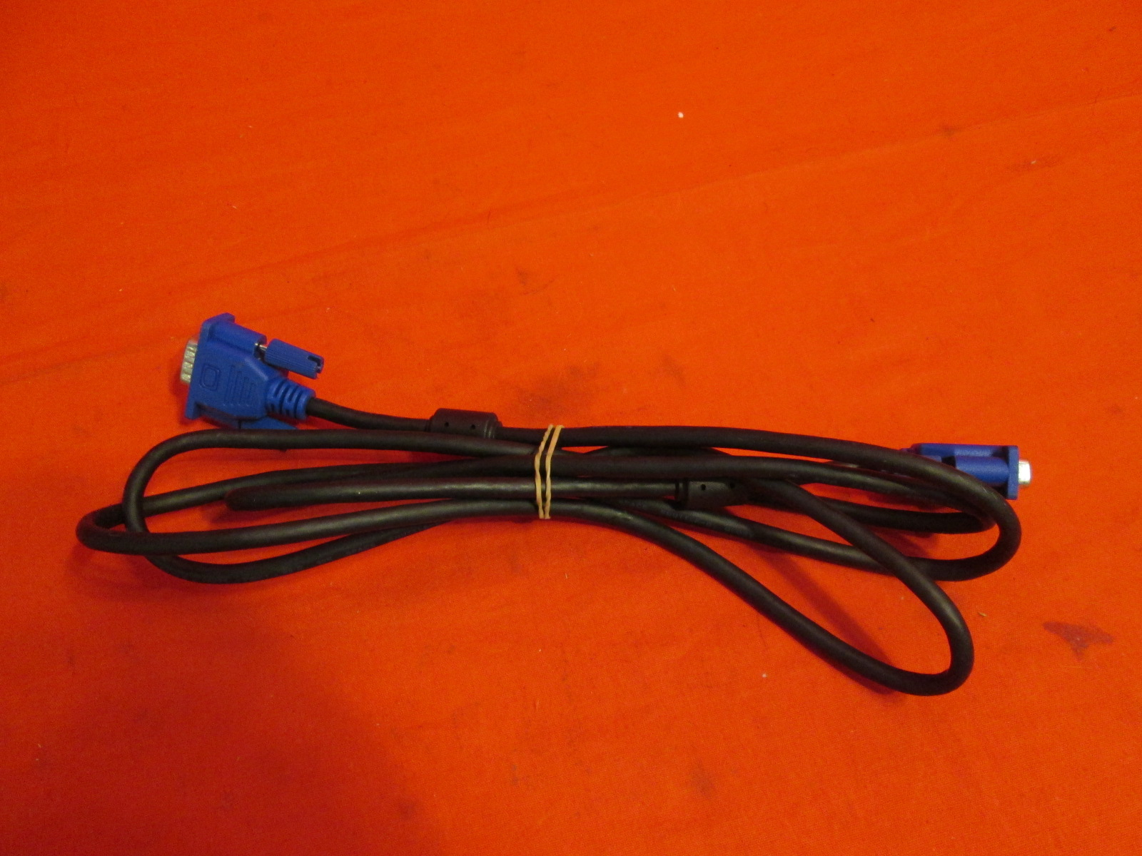 5 Feet 15 Pin VGA M To M Video Cable Black Cable