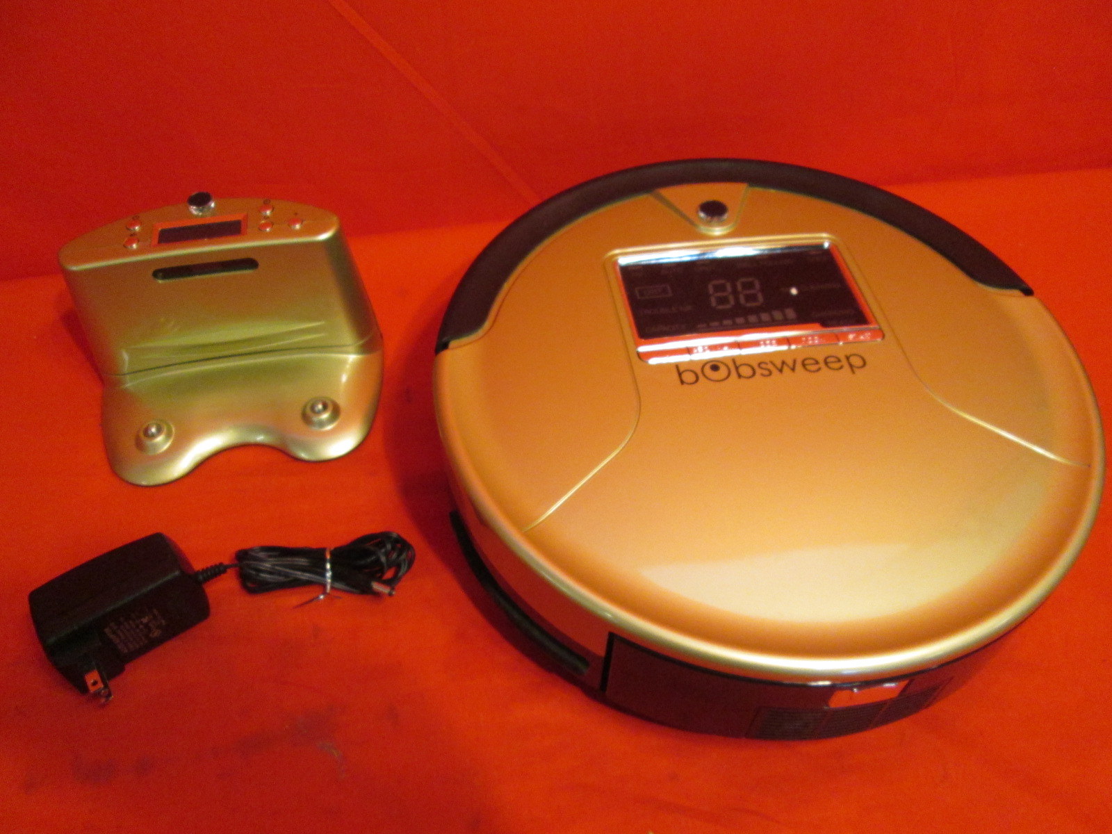 Bobsweep Robotic Vacuum Cleaner Sweeper And Mop Rdh30w240100