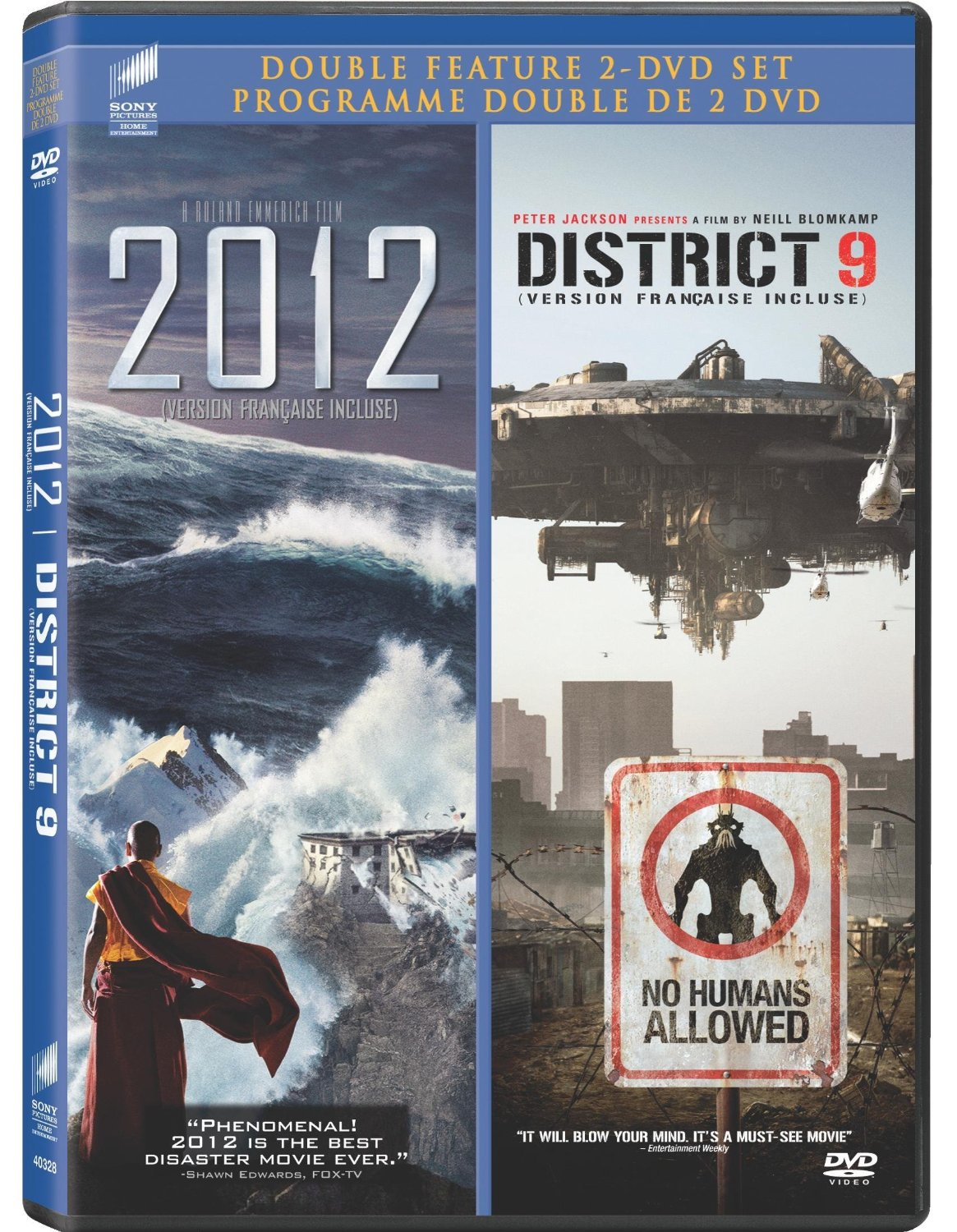 2012 / District 9 On DVD