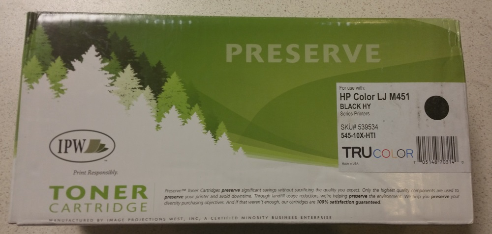 Black High Yield Toner Cartridge Compatible With HP LaserJet Pro M351