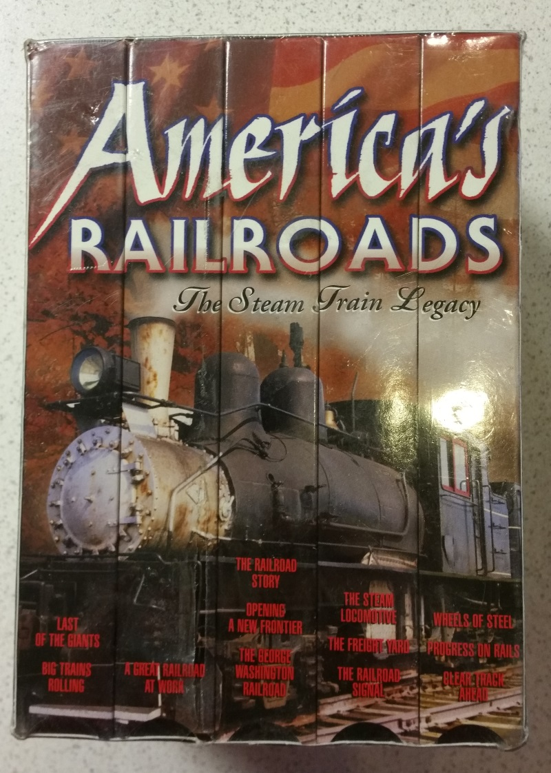 America's Railroads: The Steam Train Legacy On VHS