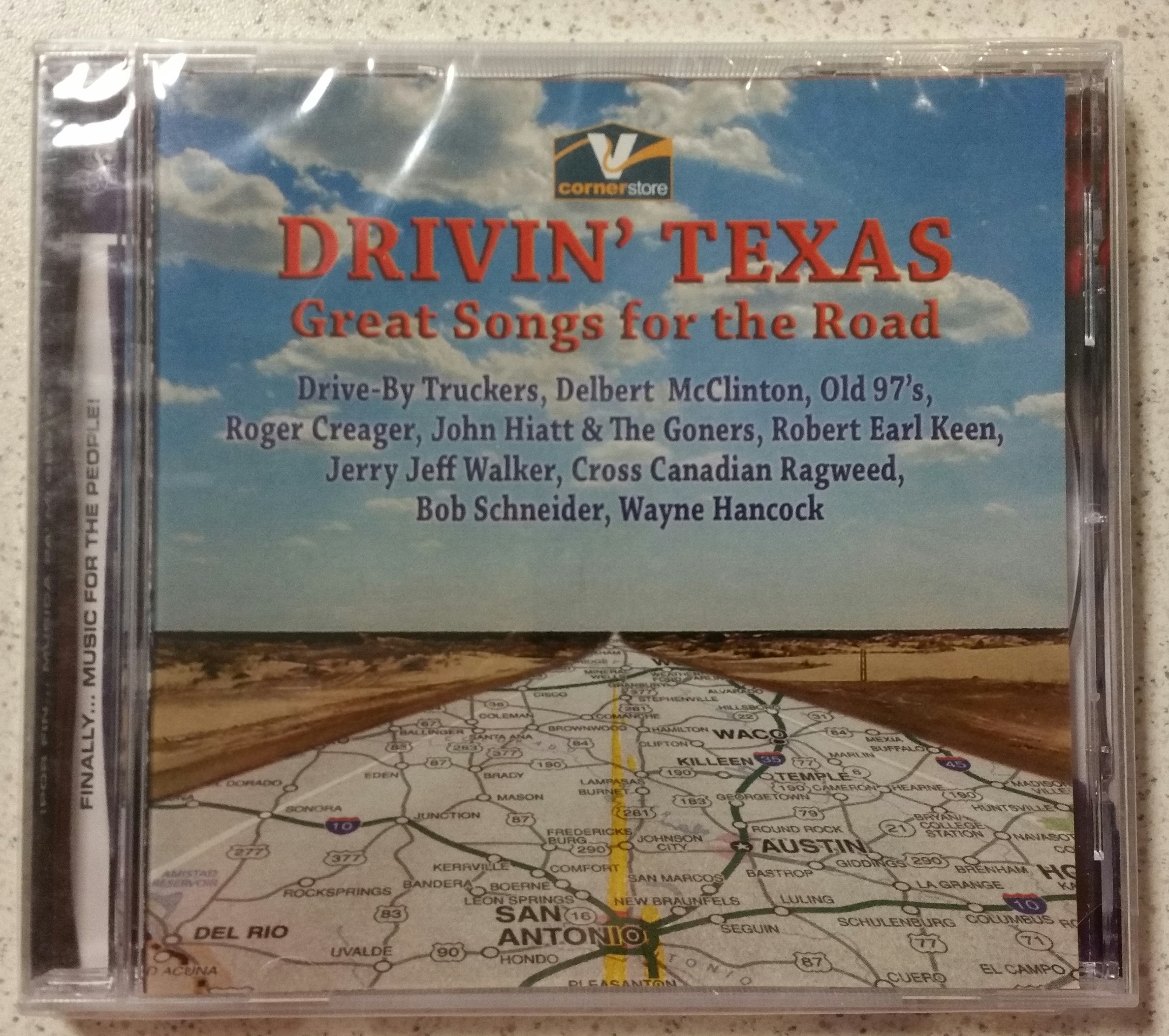 Image 0 of Drivin Texas Great Songs For The Road By Various On Audio CD Album