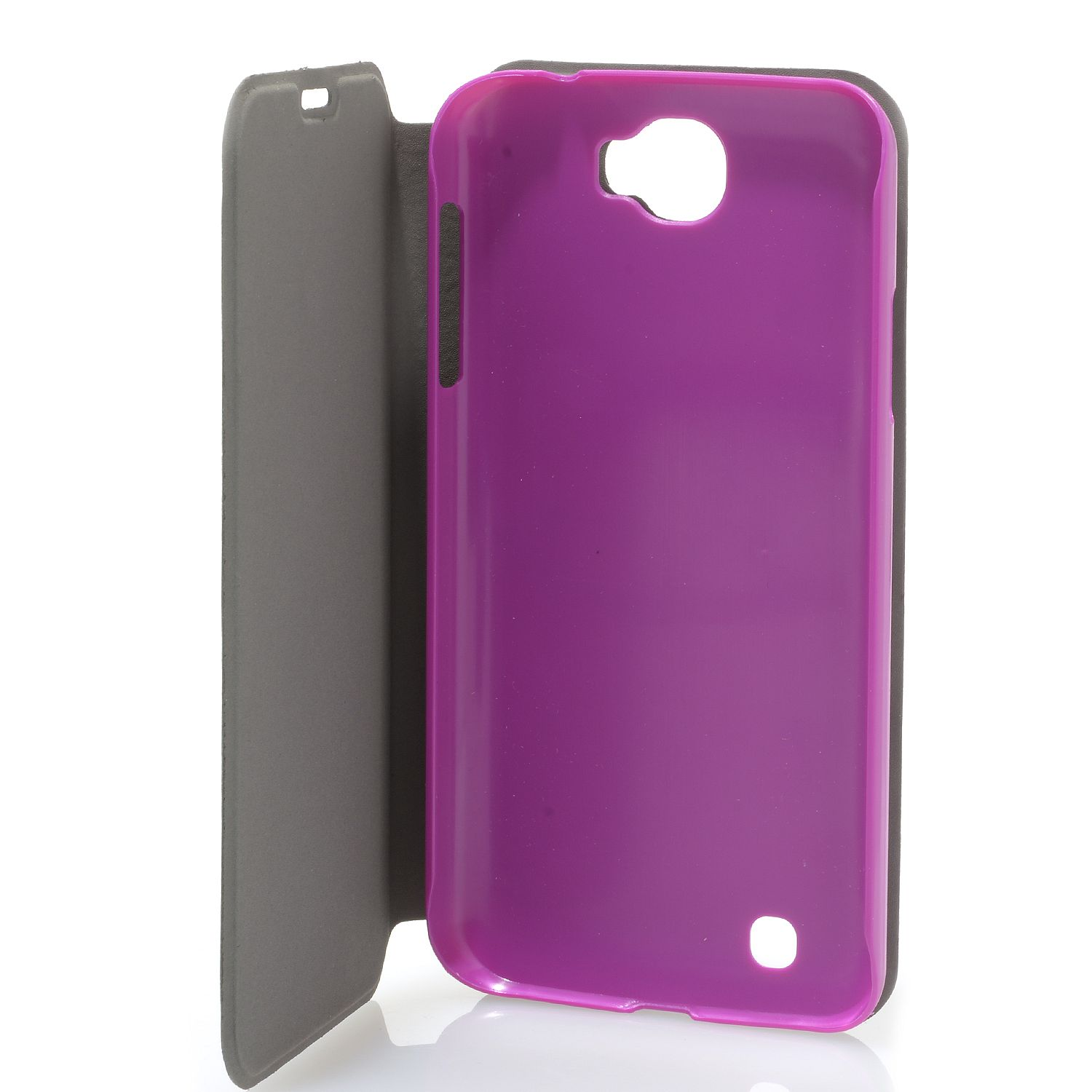DIGITAL2 Flip Cover Folio Case For D2 D502P 5 Smartphone Purple Fitted