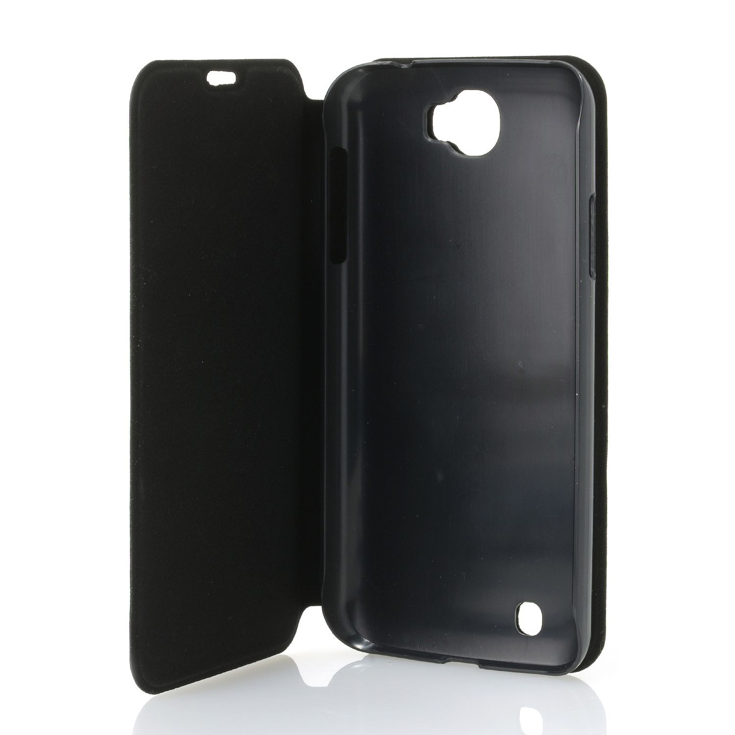 DIGITAL2 Flip Cover Folio Case For D2 D502P 5 Smartphone Black Fitted