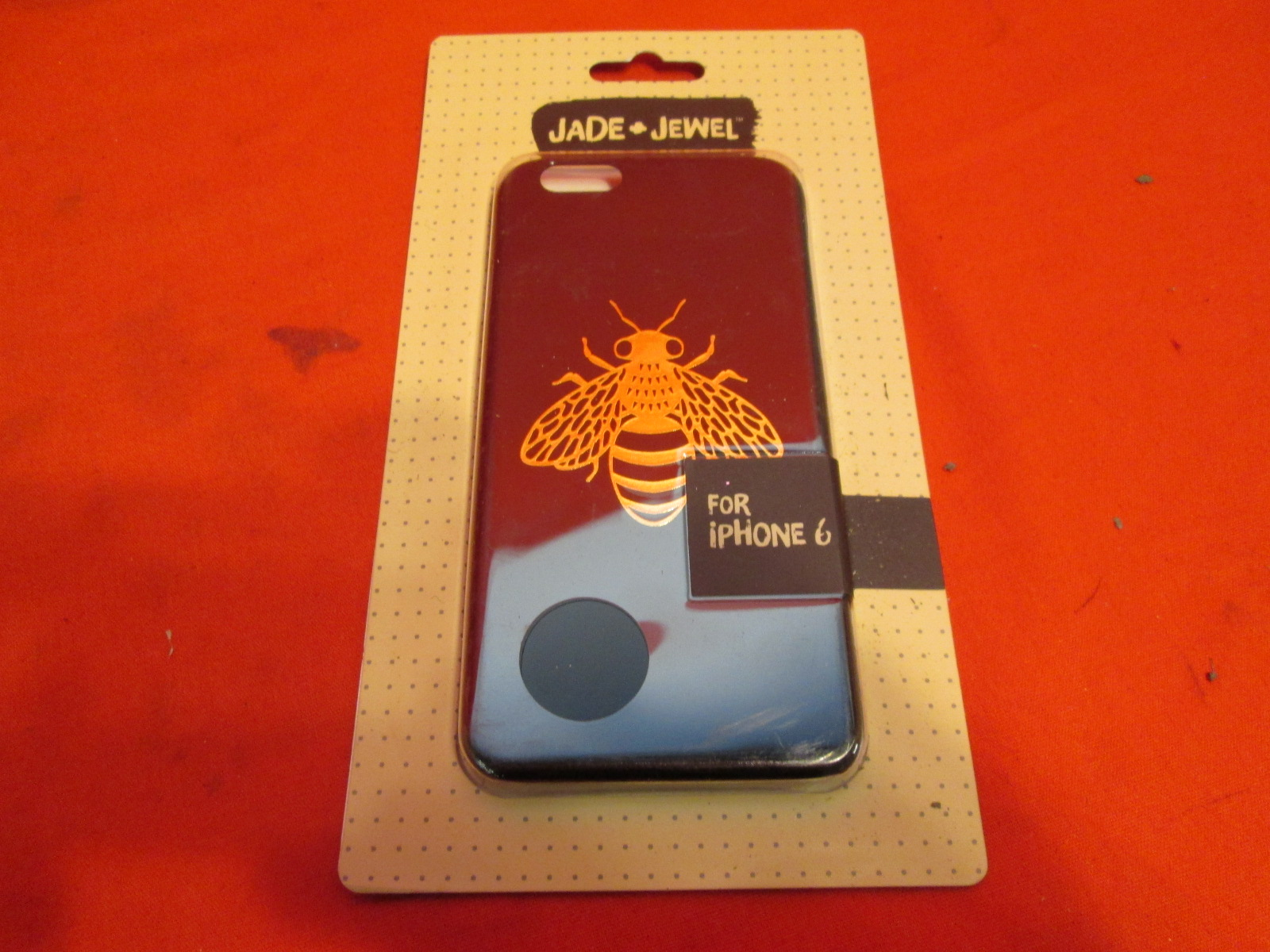 Jade And Jewel Cell Phone Sleeve For iPhone 6 Bumblebee