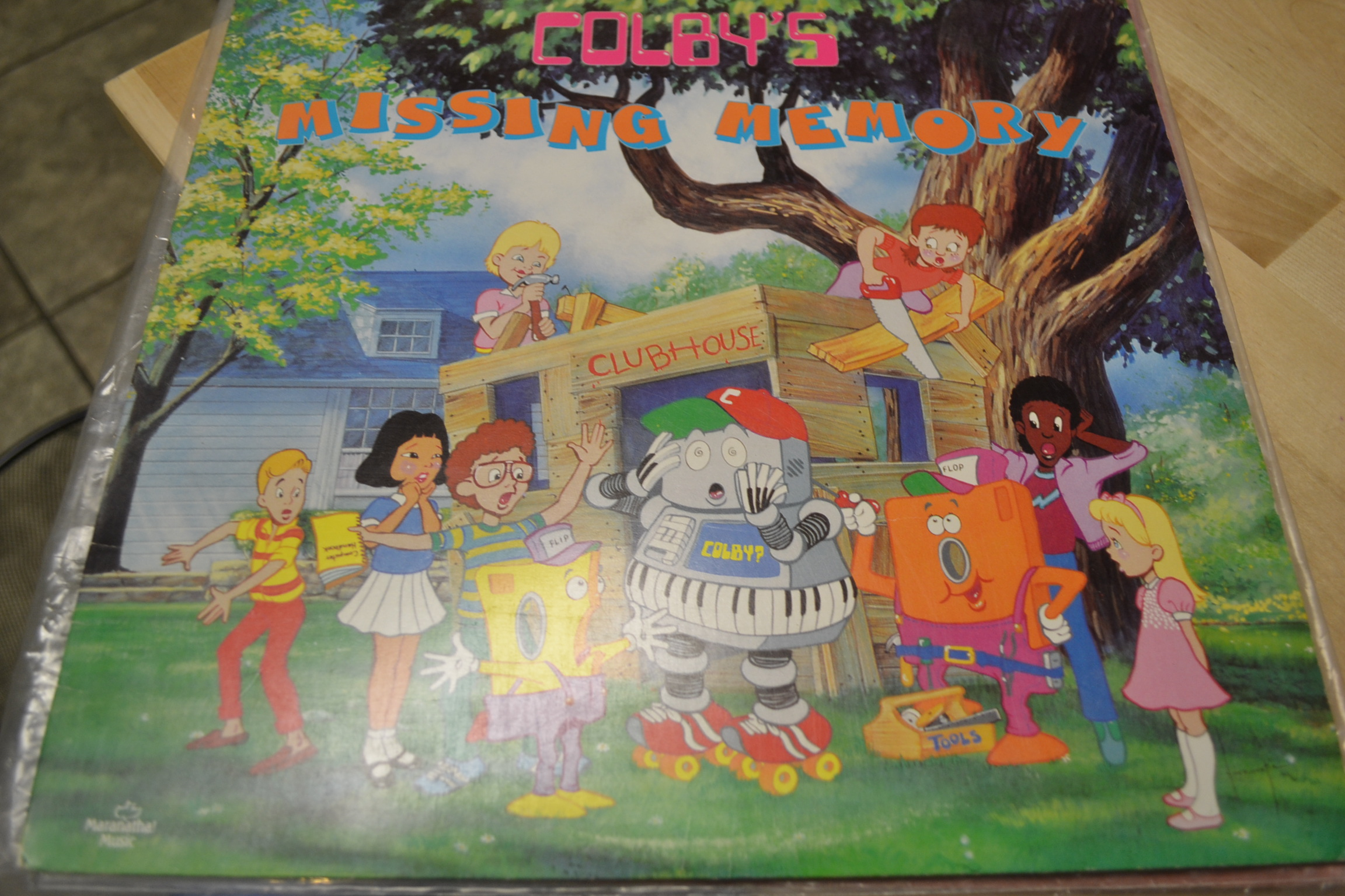 Colby's Missing Memory By Colby On Vinyl Record