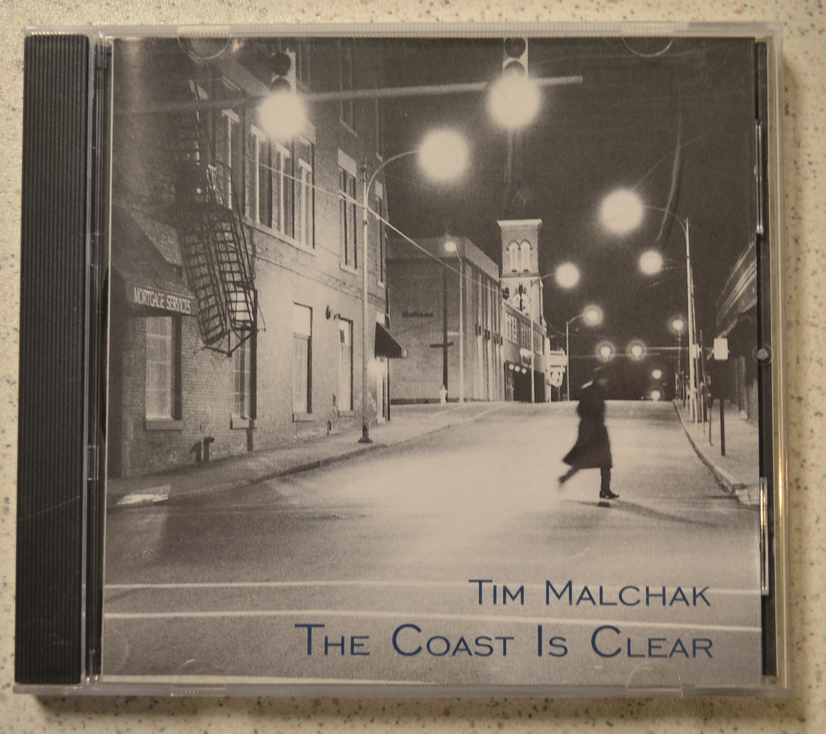 the coast is clear by tim malchak on audio cd album. Black Bedroom Furniture Sets. Home Design Ideas