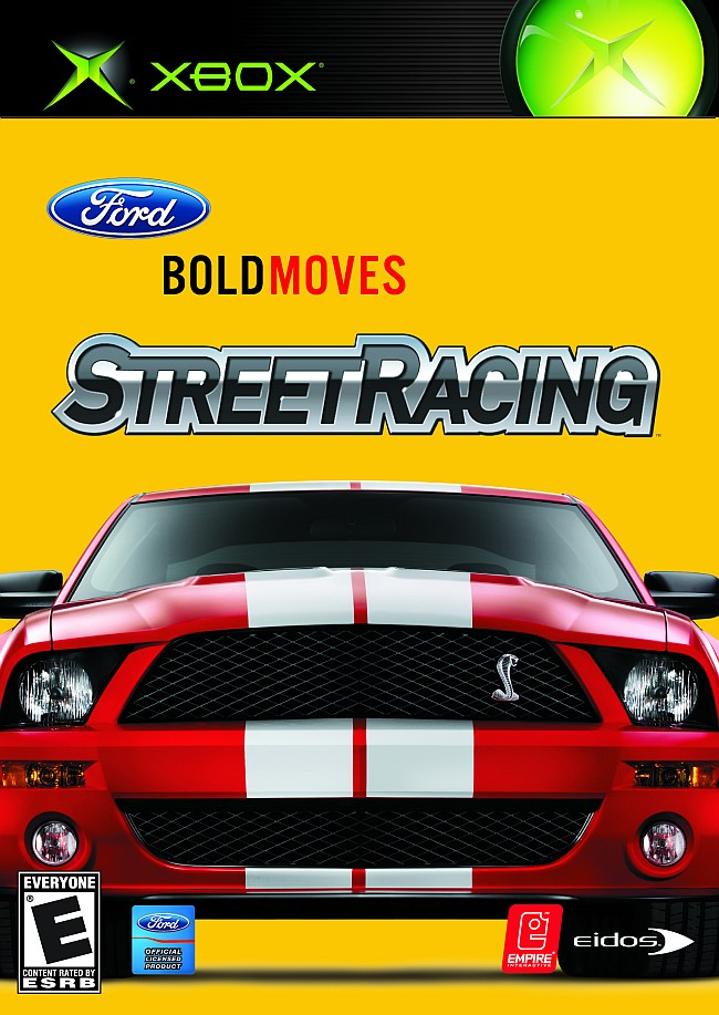 Old Xbox Games Racing Games : Ford bold moves street racing xbox for original