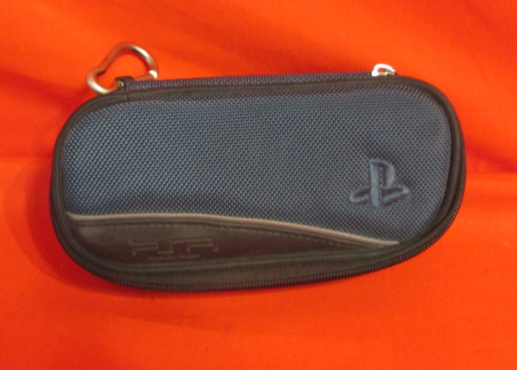 Rds Carry Case With Belt Clip For Sony Blue UMD Game -1000 For PSP PSP