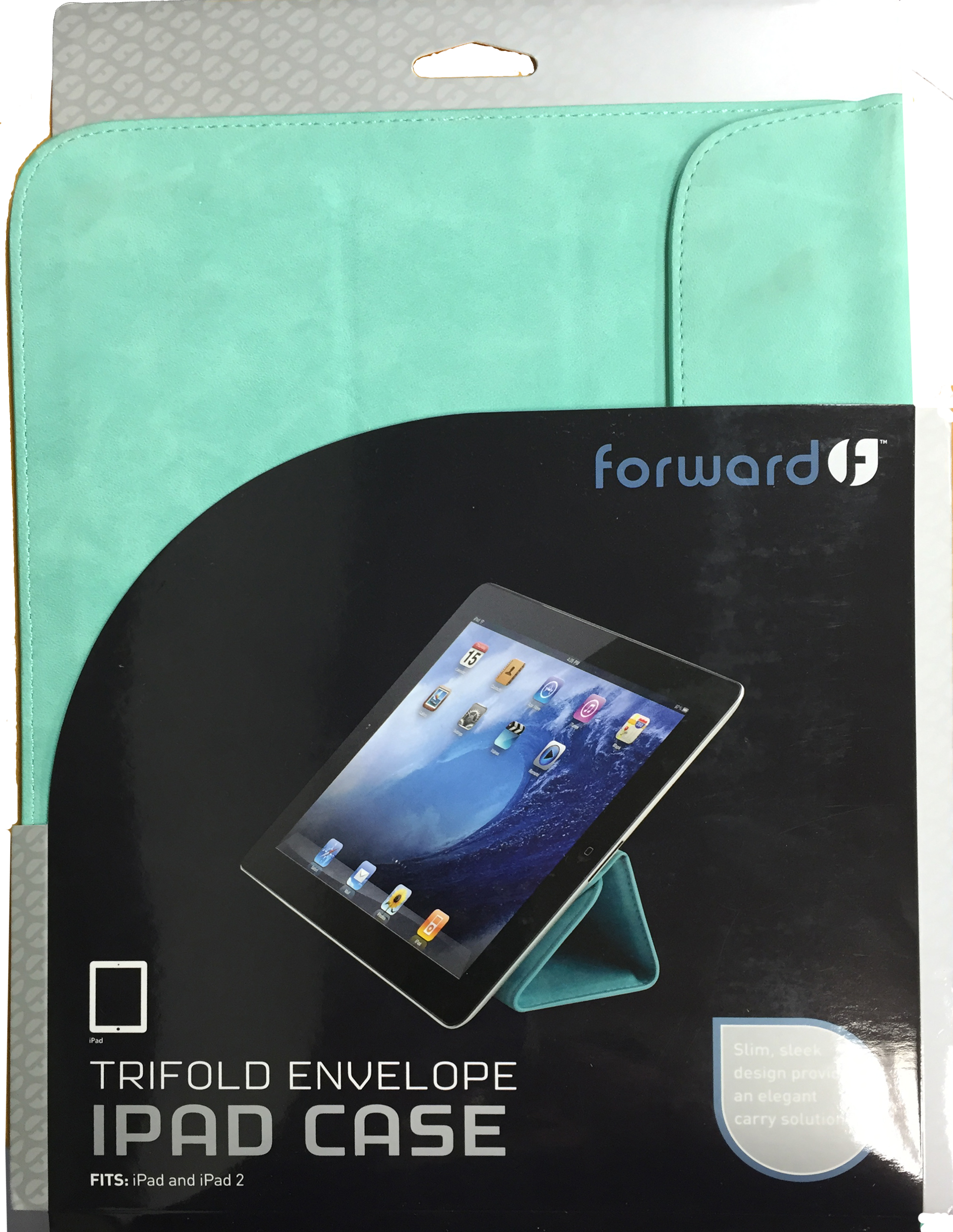Forward Trifold Envelope iPad Turquoise FCTSL05TQ Case Cover Folding Folio Green