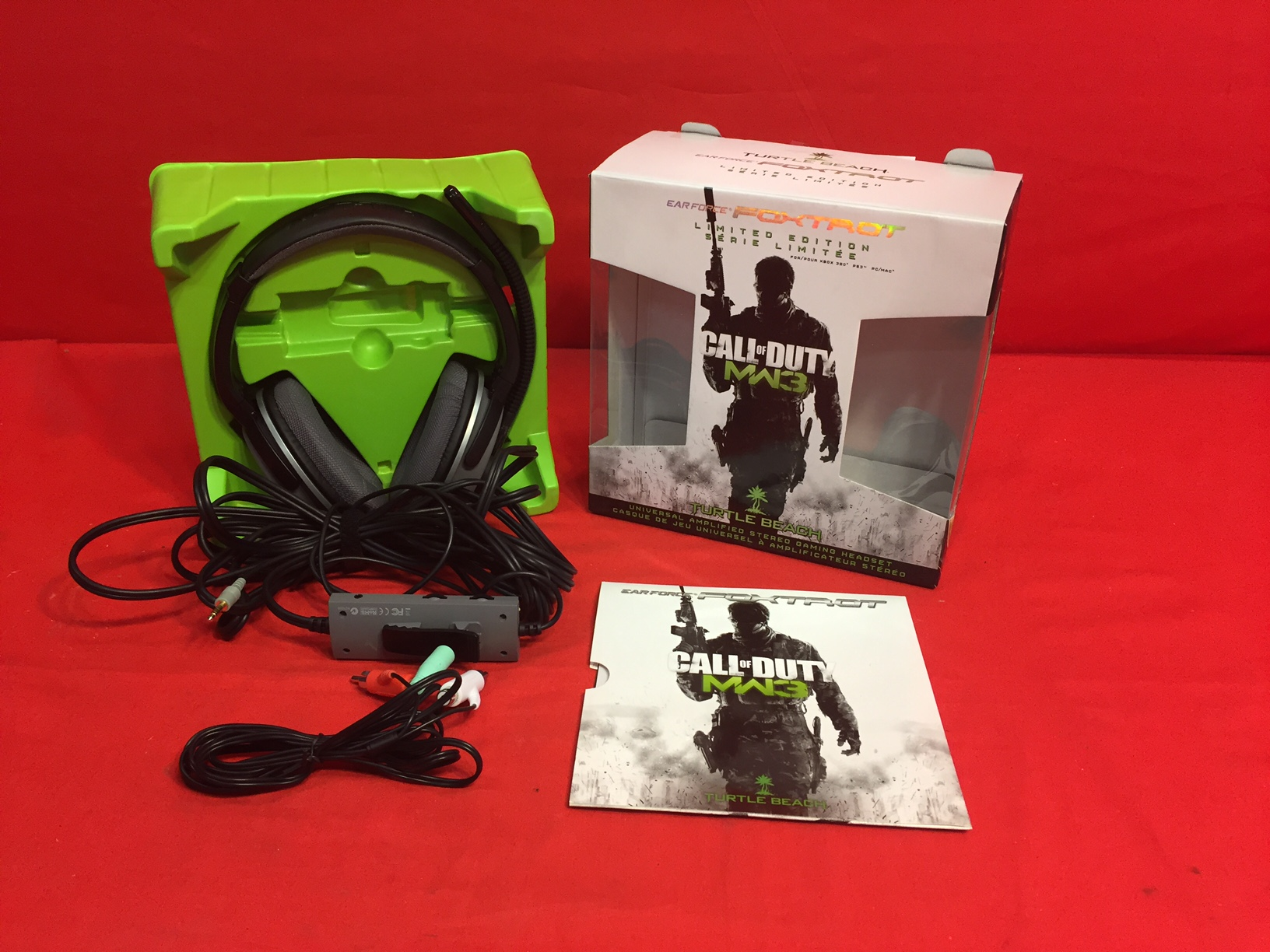 Turtle Beach Ear Force Foxtrot Call Of Duty Stereo Gaming Headset For