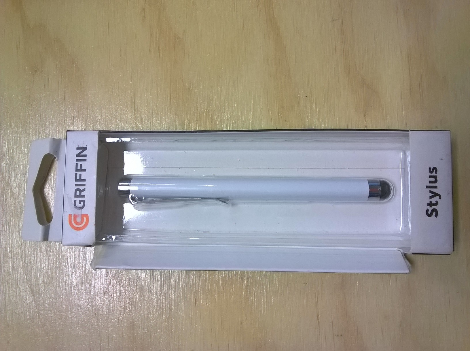 Griffin White Stylus For Capacitive Touchscreens