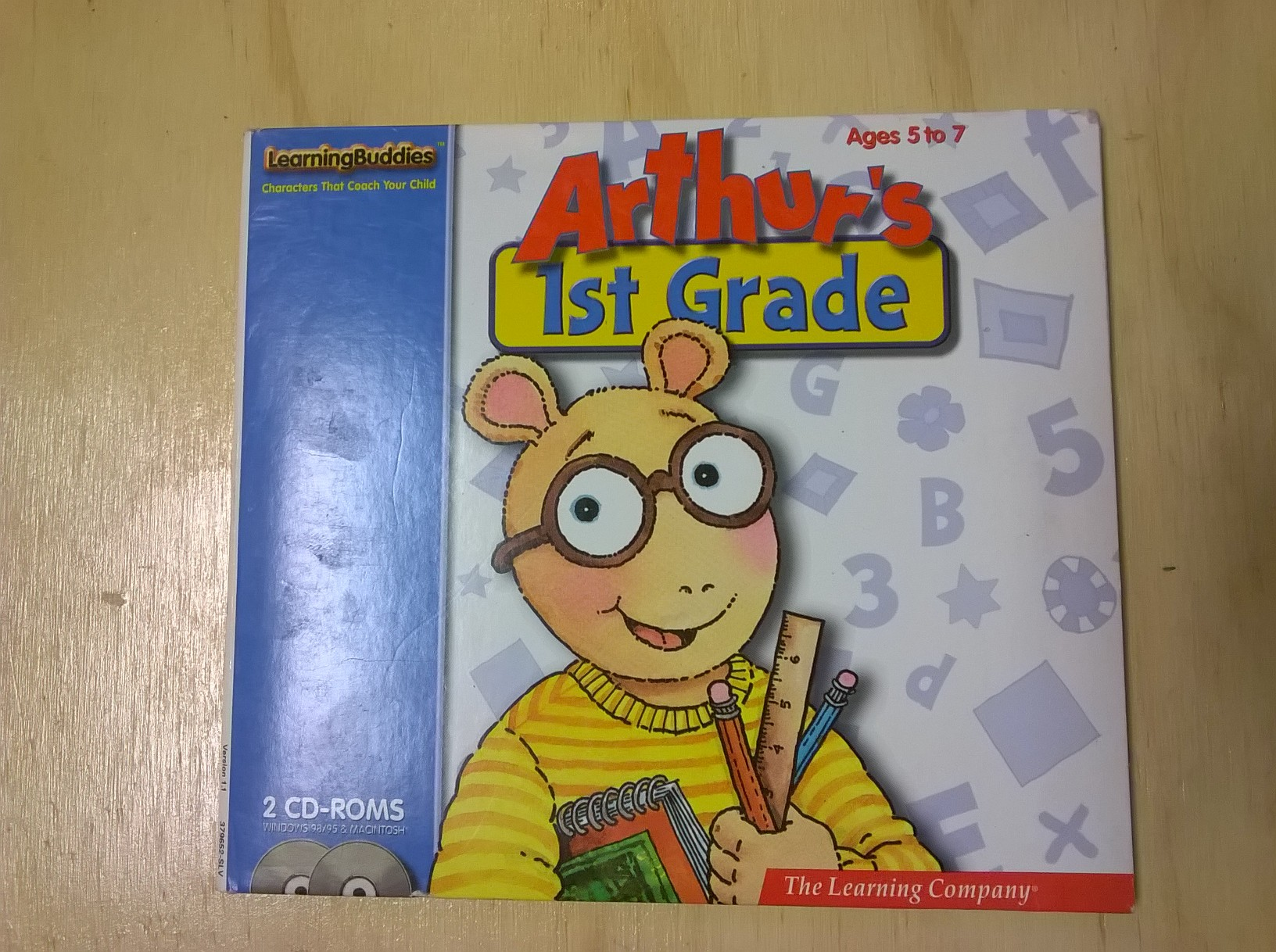 Arthur's 1st Grade Age 5 To 7 The Learning Company Software