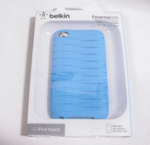 Belkin Blue Essential Case For iPod Touch 4th Generation Fitted Case