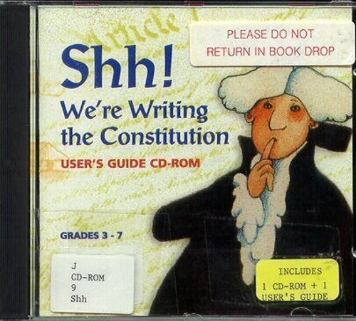 Shh! We're Writing the Constitution Fritz: Reading Guide, Vocab, Projects, Quiz