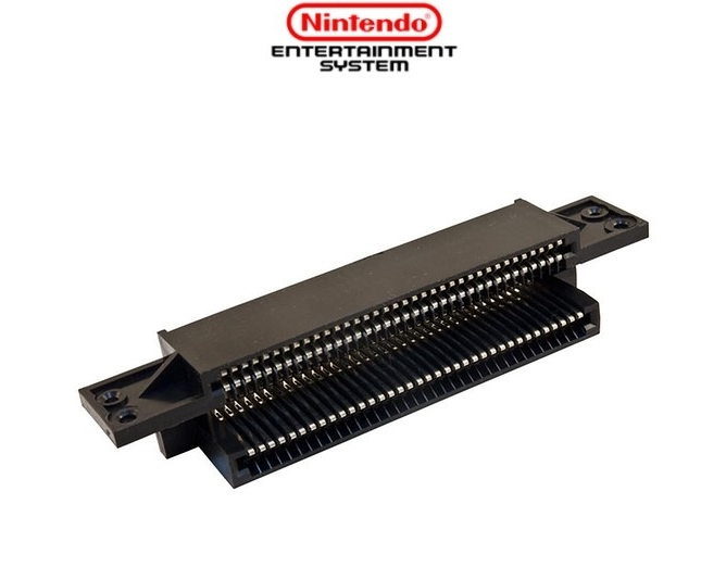 72 Pin Replacement Connector Cartridge Slot For Nintendo NES Vintage Tool Kit