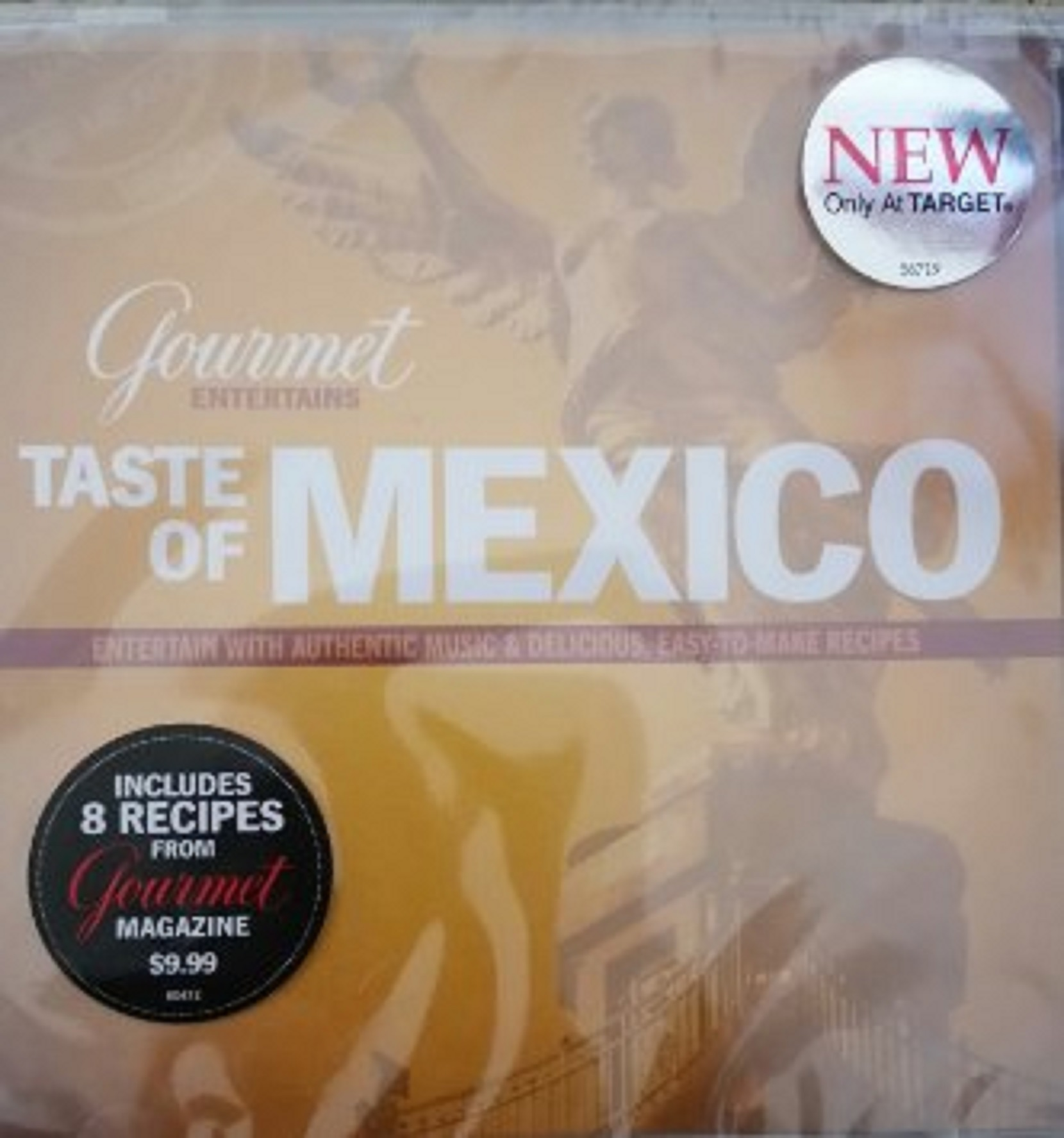 Gourmet Entertains: Taste Of Mexico On Audio CD Album