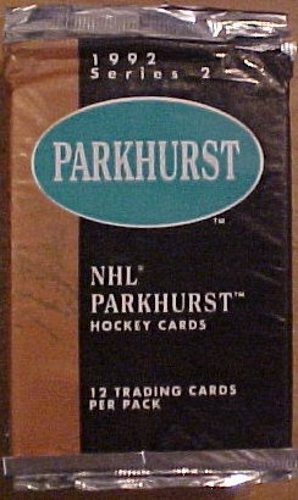 1992 Parkhurst Series 2 NHL Hockey Cards Pack TCG