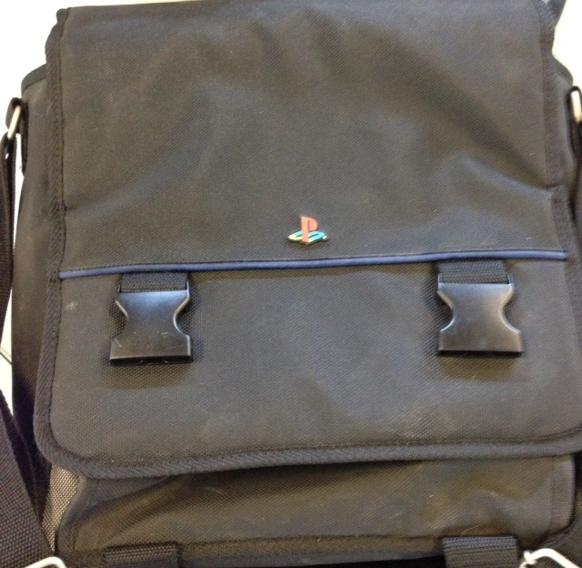 ALS Industries PlayStation Messenger Bag For PlayStation 1 2 PS1 PS2 Black Carry