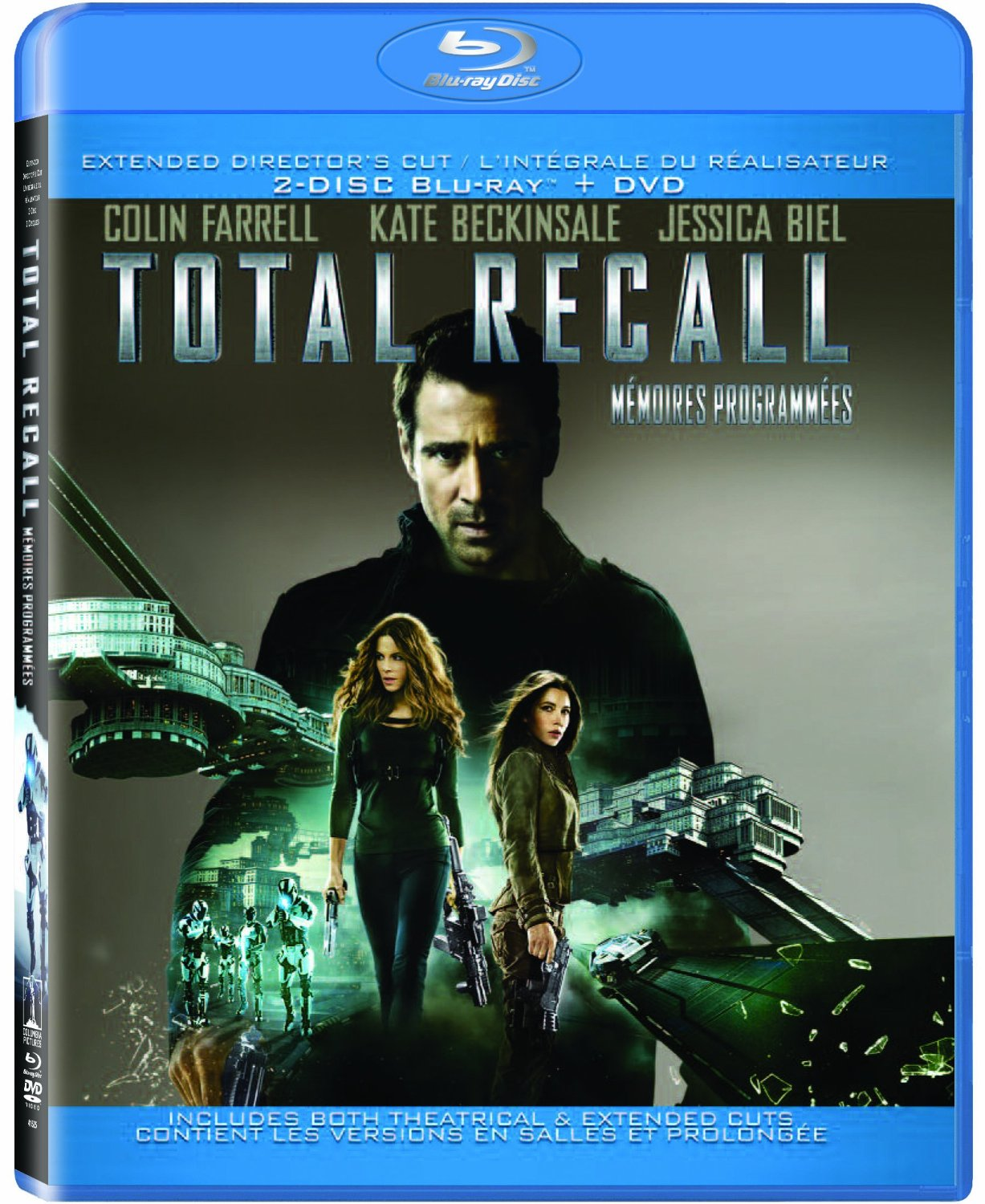 Otal Recall Extended Director's Cut DVD Ultraviolet Bilingual On Blu-Ray
