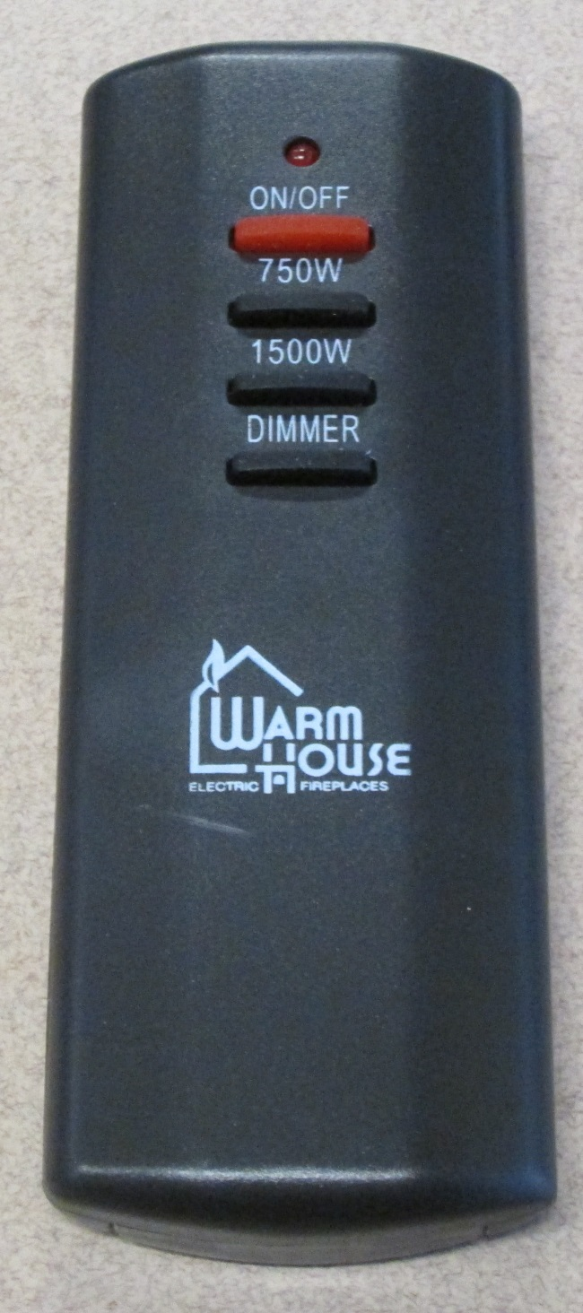 Warm House Electric Fireplace Replacement Remote