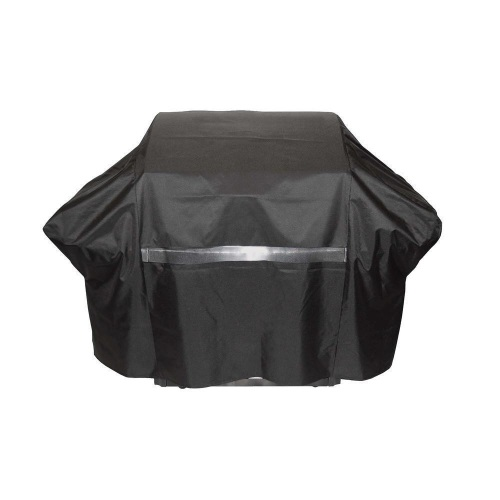 60 Inch Heavy Duty Weather Resistant Premium Grill Cover Black Large