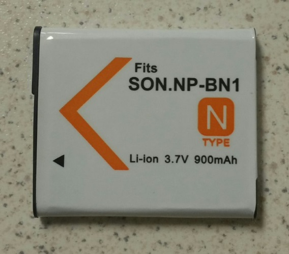 Generic Rechargeable Battery For SONNP-BN1 Li-Ion 3.7V 900MAH