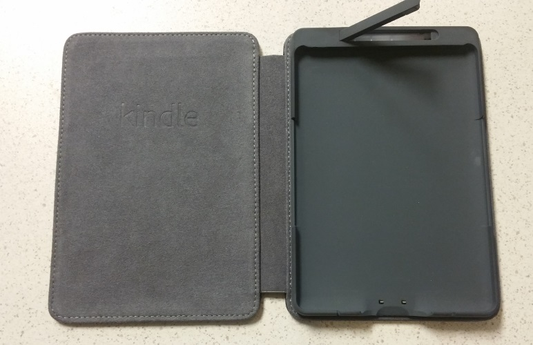 Amazon Kindle Leather Lighted Cover For Kindle 5th