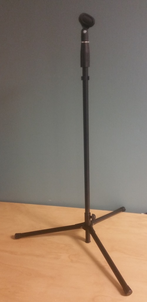 Adjustable Up to 6 Ft Microphone Stand Black