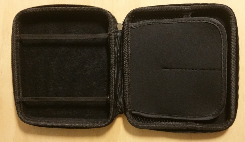 Image 2 of Black Nintendo 2DS Zippered Carry Case Game For 3DS