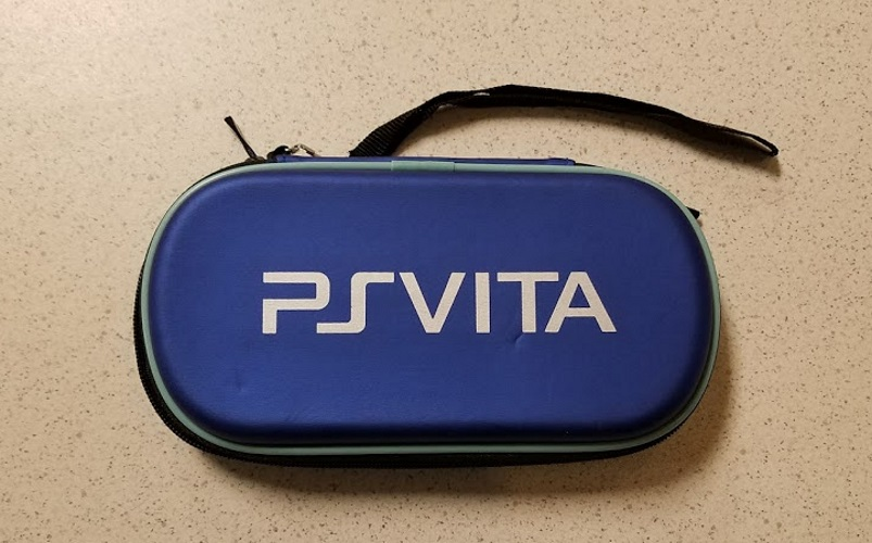 Generic Hard Shell Eva Protective Case Blue Game For Ps Vita