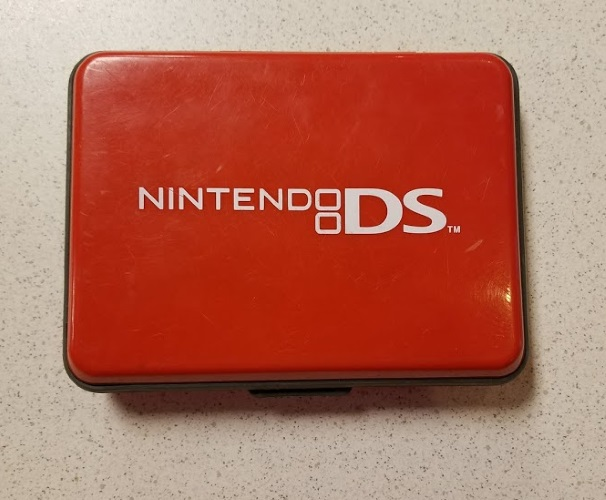 BD&A Hard Travel Carry Case Red Game For DS