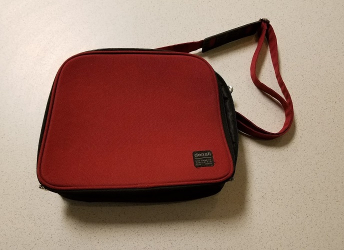 Denali Red Messenger Carry Bag Camera: Medium Format Carry/Shoulder ADF930