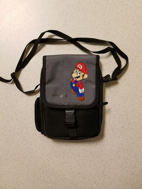 ALS Industries Mario Deluxe Game Traveler Bag With Strap Multi-Color Carry/shoul