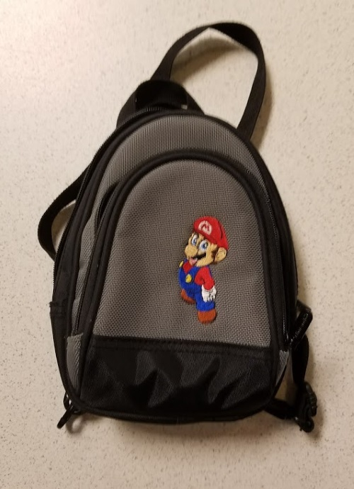 ALS Industries Mini Backpack Game Traveler Featuring Mario Multi-Color For DS