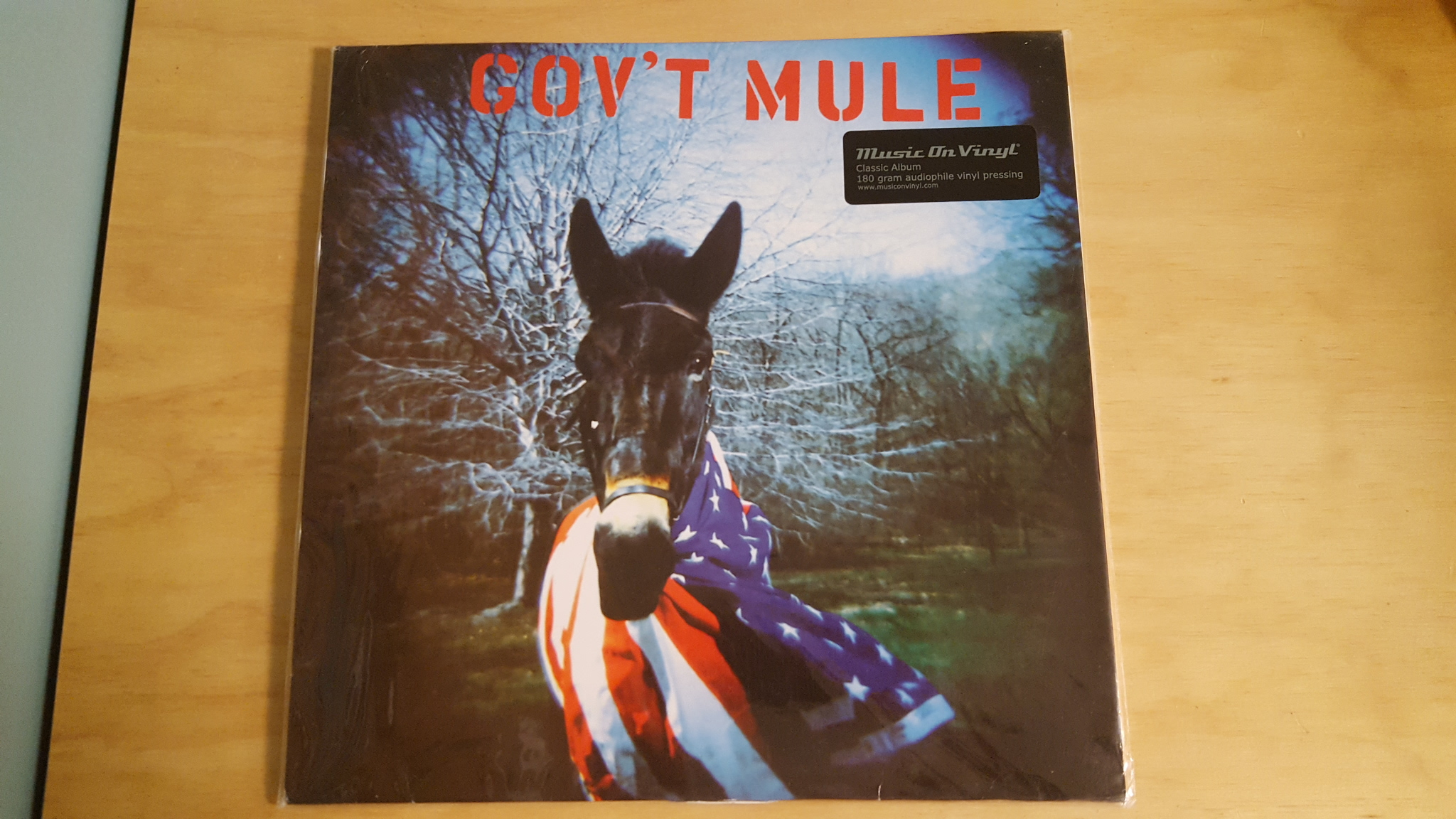 Gov't Mule By Gov't Mule On Vinyl Record Lp
