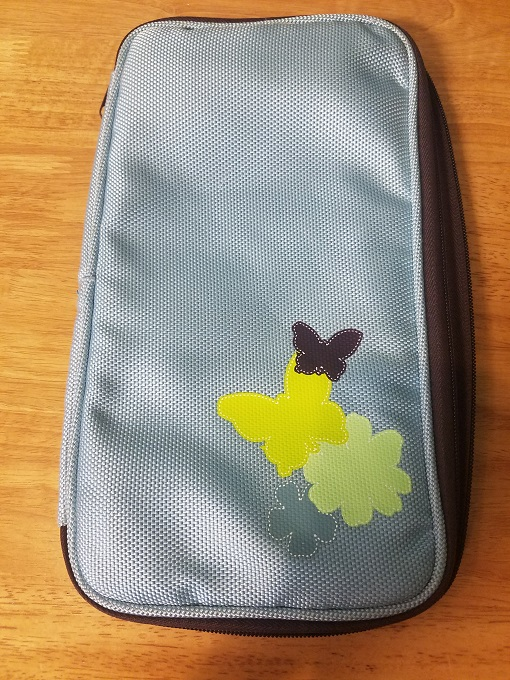 Butterfly CD Case Blue JXR809