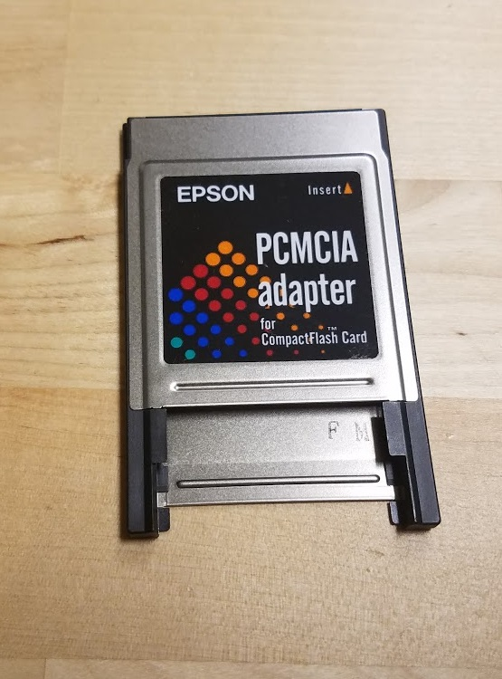 Epson Pcmcia Adapter For Compactflash Card VDU421