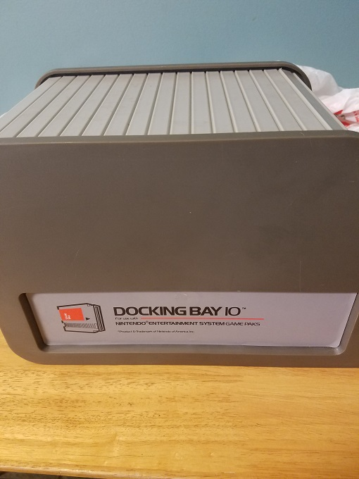 Docking Bay 10 For Use With Nintendo Entertainment System Game Pak For Nintendo