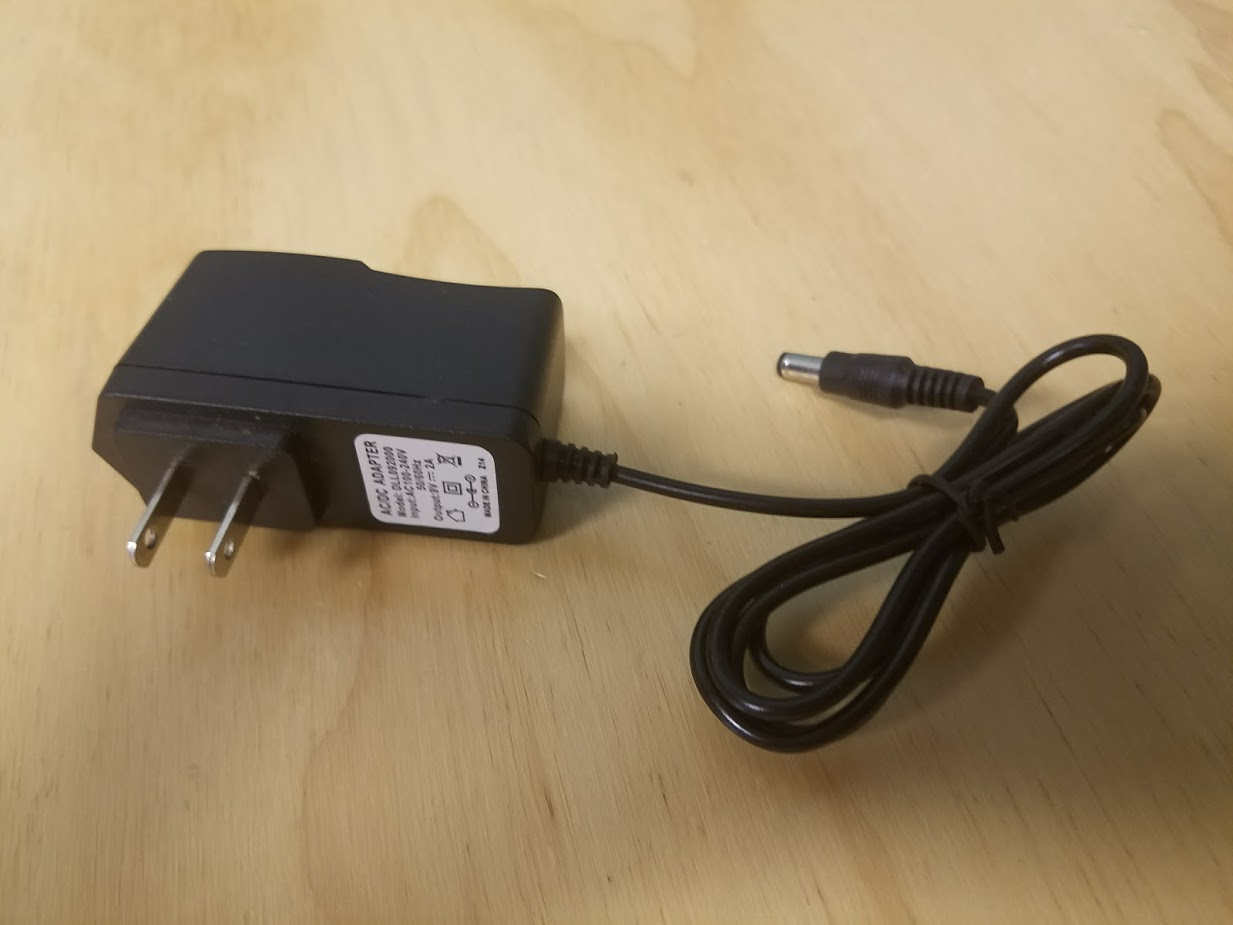Image 0 of Generic 9V AC To DC Adapter Wall Charger Power Supply DLL092000 To to