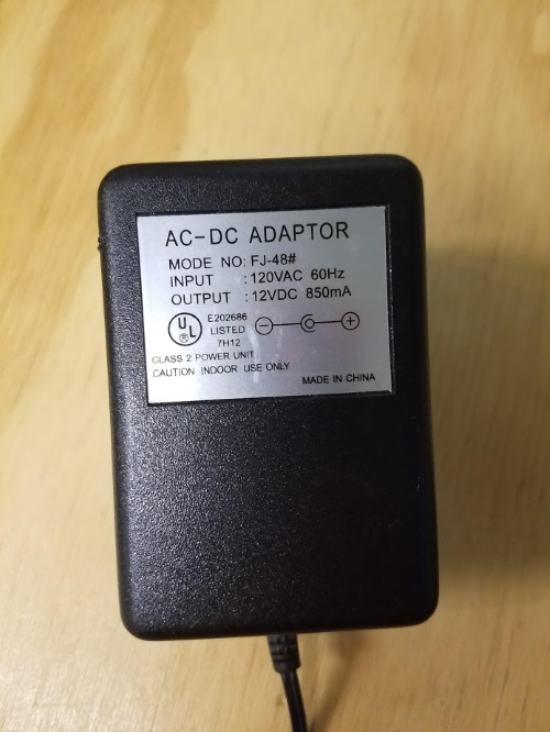 Image 2 of Generic AC to DC Adapter Wall Power Charger FJ-48%23 12V