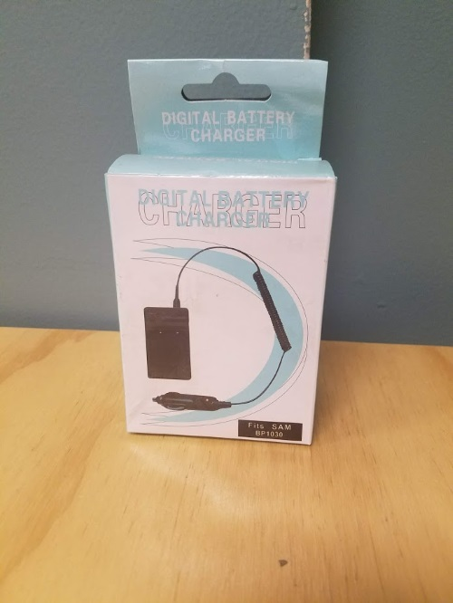 Digital Battery Charger For Samsung BP1030 BZA741