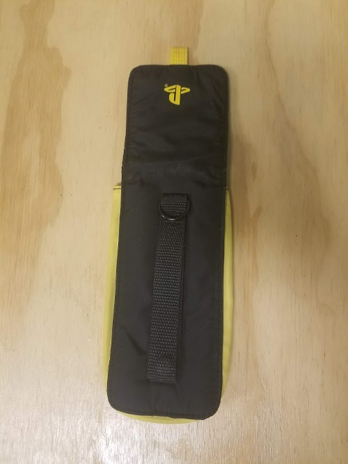 Image 3 of Yellow And Black Nylon Carry Pouch For PSP
