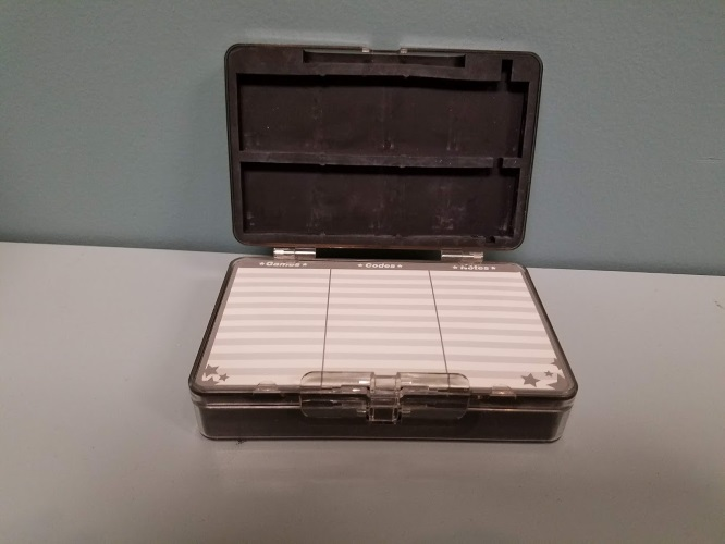 Image 2 of Clear Plastic Travel Game Carry Case For DS