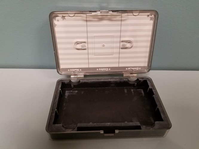 Image 3 of Clear Plastic Travel Game Carry Case For DS