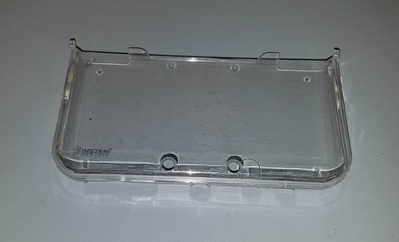 Snap On Clear Protective Console Case For DS XL